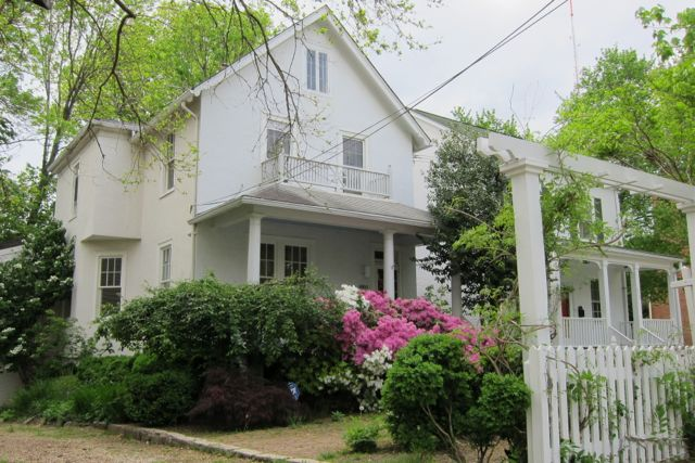 Our 1916 farmhouse in Washington, D.C. that we are repairing and restoring