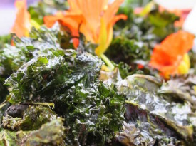 Recipe for crunchy delicious kale chips
