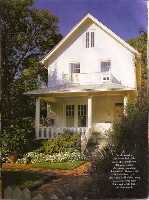 Suardi house as pictured in House Beautiful in 1998