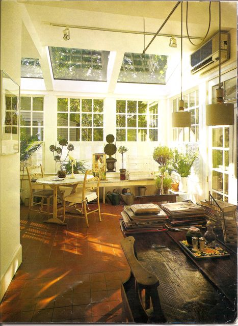 This sunroom was the latest addition and our favorite room in the house.