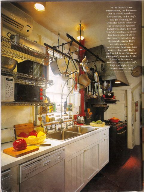 Yup, this is our kitchen: industrial meets country.