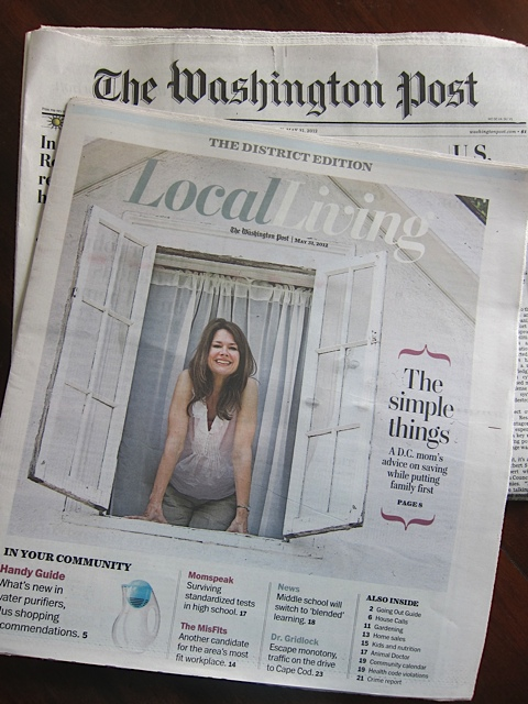 WashingtonPostAmySuardiFrugalMamaCoverLocalLiving