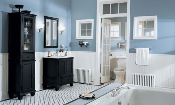 Bathroom renovations updating without overdoing for How to update a bathroom without renovating