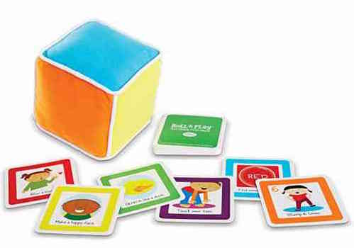 Roll and Play Board Game for Toddlers, from Lasting, Low-Tech Gift Ideas for Kids of All Ages