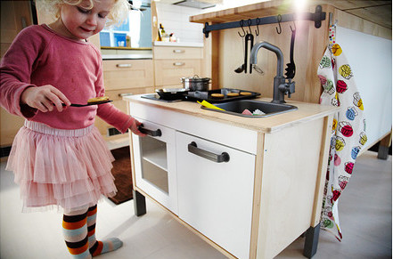 IKEA Play Kitchen from Great Gifts for Kids of All Ages
