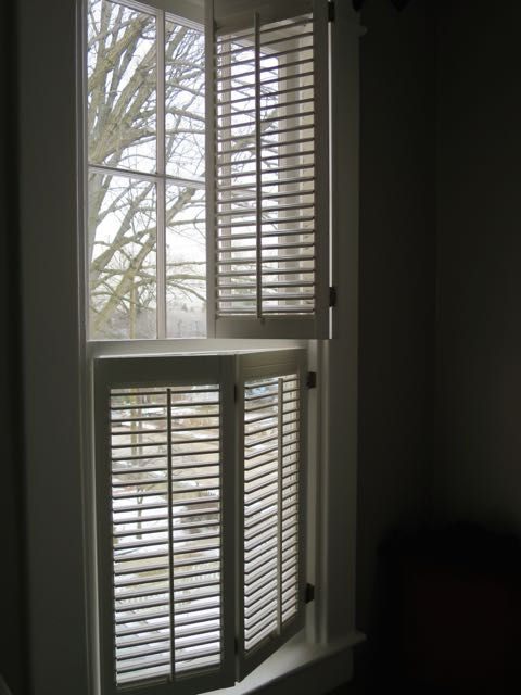 Using architectural salvage to beautify your home and save money for Window shutters interior prices