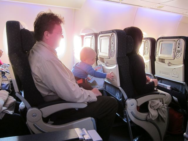 Us Air Traveling With Infant